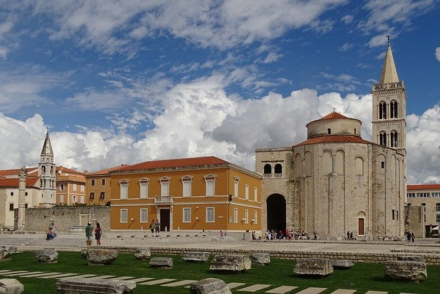 beautiful old town Zadar - Dalmatia