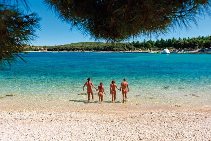 Nude and happy - top 3 nudist beaches in Istria