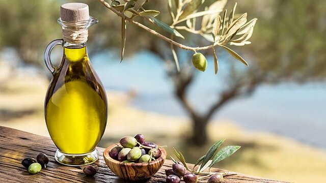 the best olive oil in the world comes from Istria in Croatia, you can see it on the picture