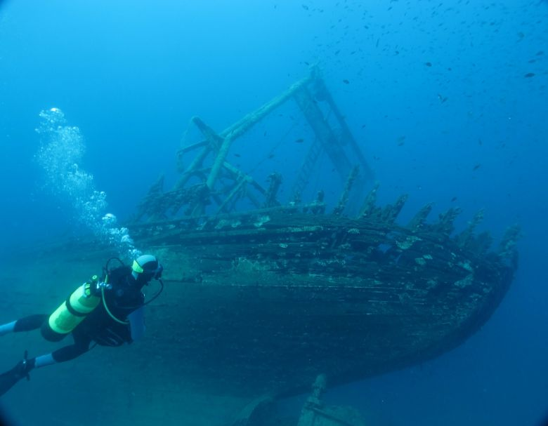 Dalmatia_shipwreck diving