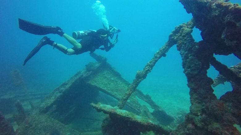 Croatia_shipwreck diving