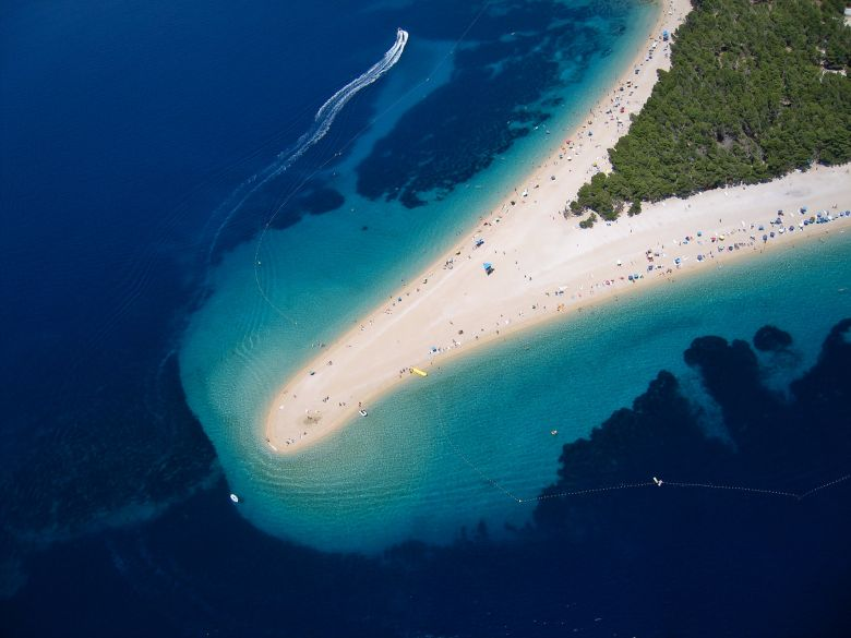 The most famous beach on Brac