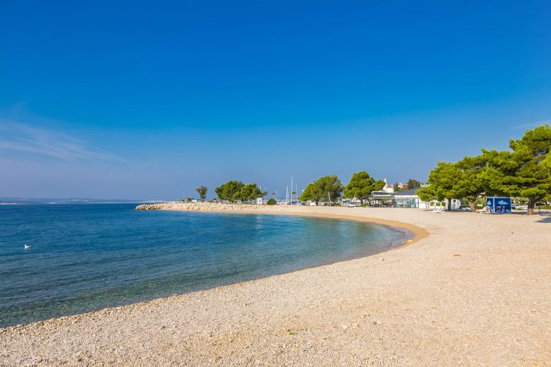 Beach in Crikvenica