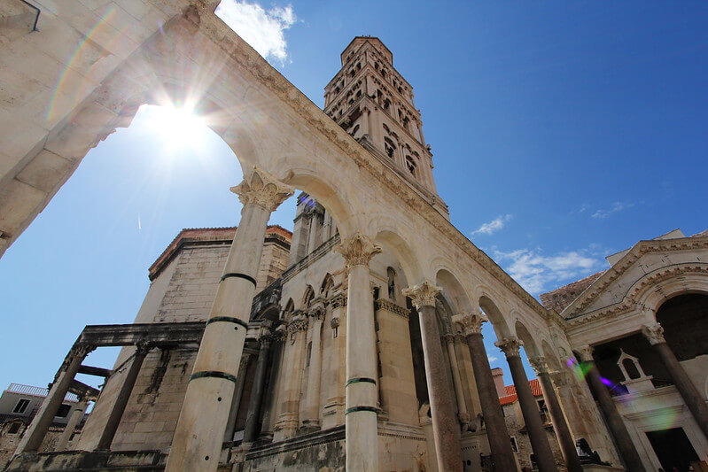 Diocletian's palace in Split - Villsy