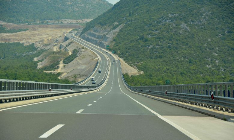 Highway in Croatia